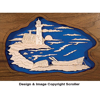 Sunrise Lighthouse Project Pattern - Downloadable