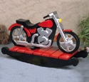 Motorcycle  Rocker Woodcraft Pattern
