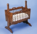 Baby Cradle Woodcraft Pattern