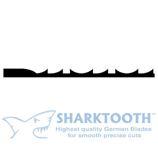 SHARKTOOTH <BR>Scroll Saw Blades<br>Ultra Reverse - Plain End