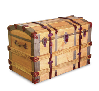 European Trunk Woodworking Plan