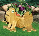 Frog Animal Planter Pattern