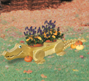 Gator Animal Planter Pattern