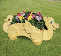 Dragon Animal Planter Pattern