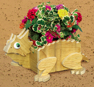 Horned Toad Animal Planter Pattern