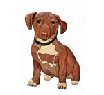 Jake the Rescue Dog Intarsia Pattern