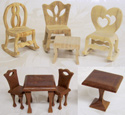 Compound Cut Mini-Furniture Designs Pattern