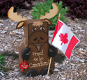 PROUD TO BE CANADIAN Moose Paver Pal Pattern