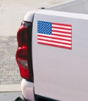 USA Flag Car Magnet