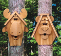 Cedar Moose & Bear Birdhouse Patterns