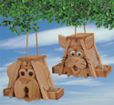 Cedar Cat & Dog Bird Feeder Plans