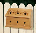One-Sided Cedar Birdhouse Plan