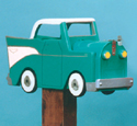 '57 Chevy Mailbox Woodcraft Pattern
