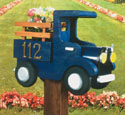 Old Truck Mailbox Woodcraft Pattern