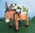 Donkey Planter Woodcraft Pattern