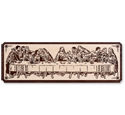 Last Supper Scrolled Portrait Art Pattern