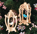 Slotted Birdcage Ornament Patterns