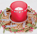 Dragonflies Candle Ring Project Pattern