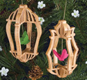 Slotted Butterfly Cage Ornament Patterns