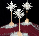 3D Slotted Snowflakes Pattern