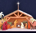 The Nativity In Wood Plan