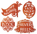 Holiday Expressions Ornament Combo Set