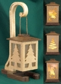 Decorative Holiday Lanterns Pattern