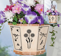 Tiny Wings Hanging Basket Pattern