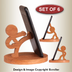 Character Cell Phone Holders - Downloadable