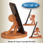 Sports Character Cell Phone Holders - Downloadable