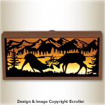 Interchangeable Wildlife Panel Light Box Pattern