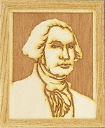 George Washington Plaque Pattern