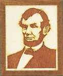 Abraham Lincoln Plaque Pattern