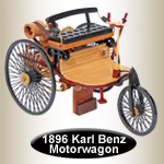 1886 Karl Benz Motorwagon