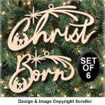 Holy Family Ornament Set - Downloadable