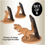 3D Animal Cell Phone Holder Set - Downloadable