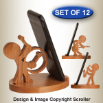 Music Character Cell Phone Holders - Downloadable