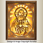 Sacred Heart of Jesus Pattern - Downloadable