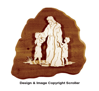 Jesus With Children Project Pattern - Downloadable