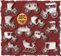 Coaches, Wagons & Buggies Set Project Patterns