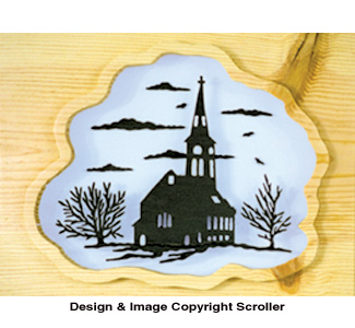 Country Church Project Pattern - Downloadable