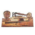 Riverboat Intarsia Pattern