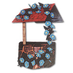 Wishing Well Intarsia Pattern