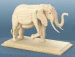 3D Large Elephant Project Pattern
