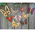 Set of 9 Butterfly