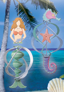 Mermaid & Seahorse Spinner Set Project Pattern
