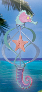 Seahorse Wind Spinner Project Pattern
