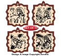 Stations of the Cross Ornament Design Pattern