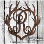 Complete Set of Antler Monogram Patterns