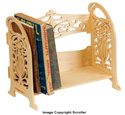 Freestanding Book Shelf Pattern